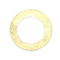 AS.7630.G Ag925 kinitro κίνητρο εξαρτήματα κοσμημάτων ασημένια εξαρτήματα κοσμημάτων χονδρική λιανική μοτίφ διακοσμητικά στοιχεία κύκλος
