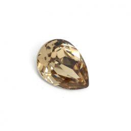 SW.TEAR14X10.CHAMPAGNE Ag925 kinitro κίνητρο εξαρτήματα κοσμημάτων ασημένια υλικά για κοσμήματα χονδρική λιανική χάντρα Swarovski δάκρυ