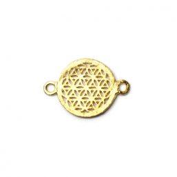 AS.7503.G Ag925 kinitro κίνητρο εξαρτήματα κοσμημάτων ασημένια υλικά για κοσμήματα χονδρική λιανική μοτίφ διακοσμητικά στοιχεία λουλούδι της ζωής