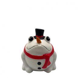 148-00559 βάτραχος βατραχος κεραμικο διακοσμητικό Χριστουγέννων διακοσμητικό Χριστουγέννων pomme pidou